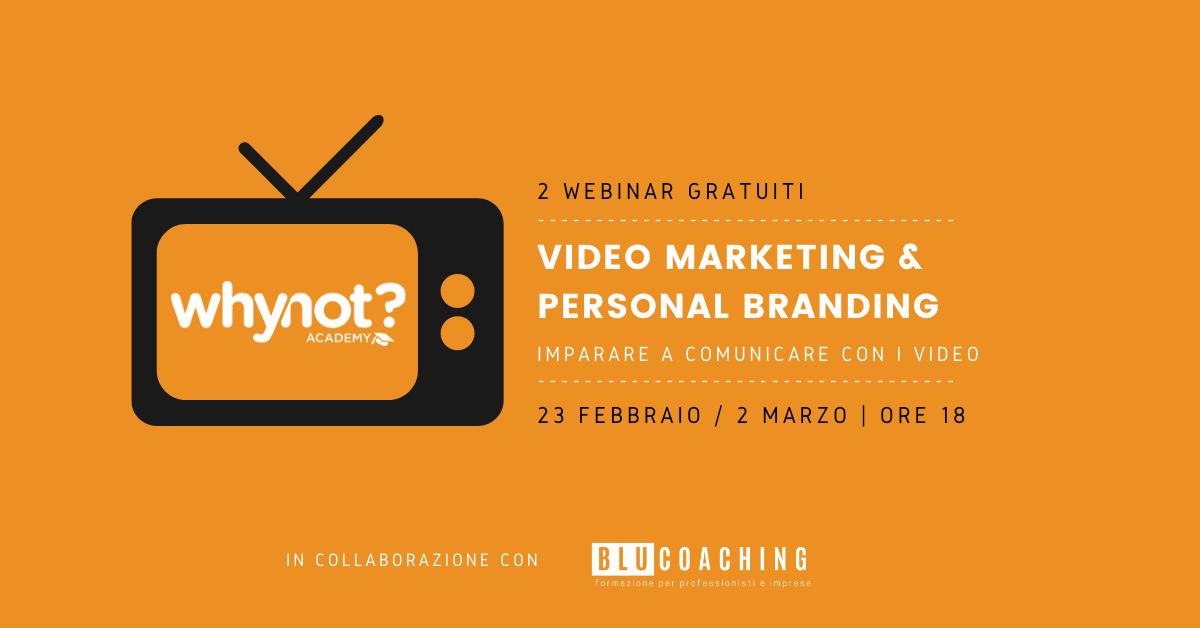 Webinar Video Marketing & Personal Branding